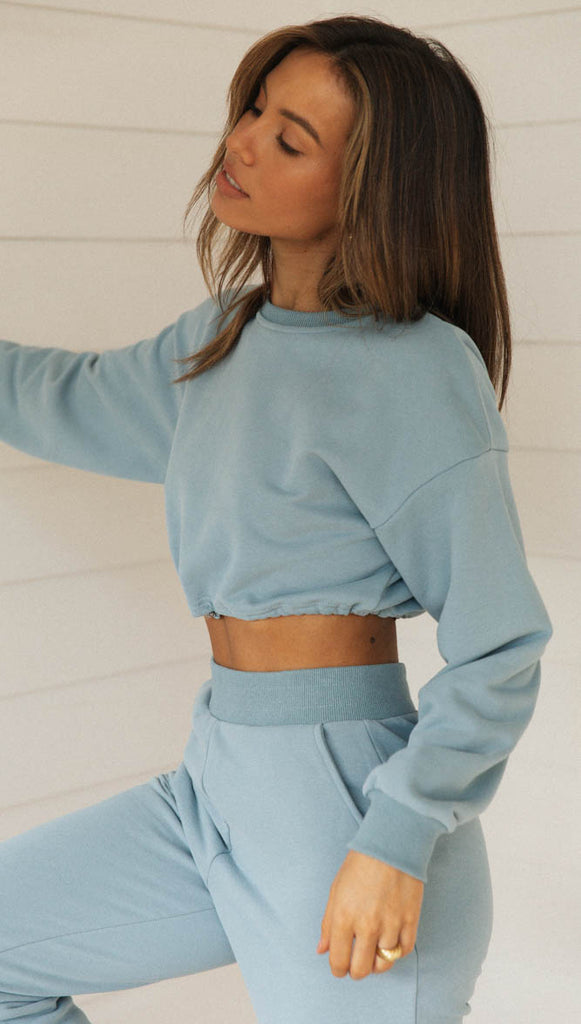 Tabitha Jumper (Steel Blue)