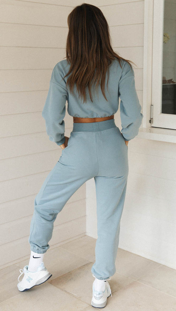 Tabitha Pants (Steel Blue)