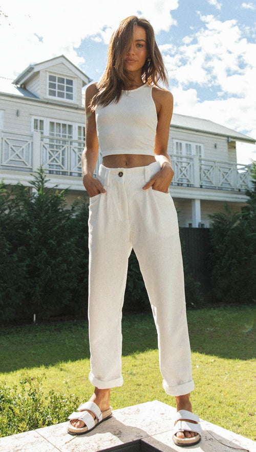 Simplicity Pants (White)