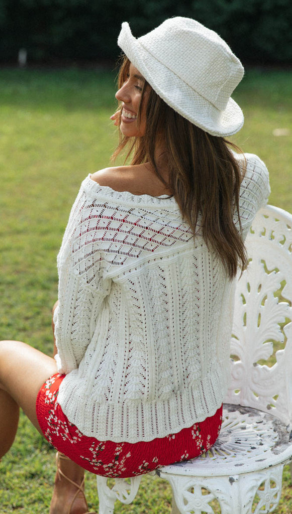 Sterling Knit (White)