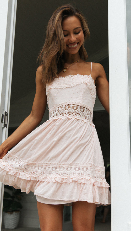 Angel Dress (Blush)