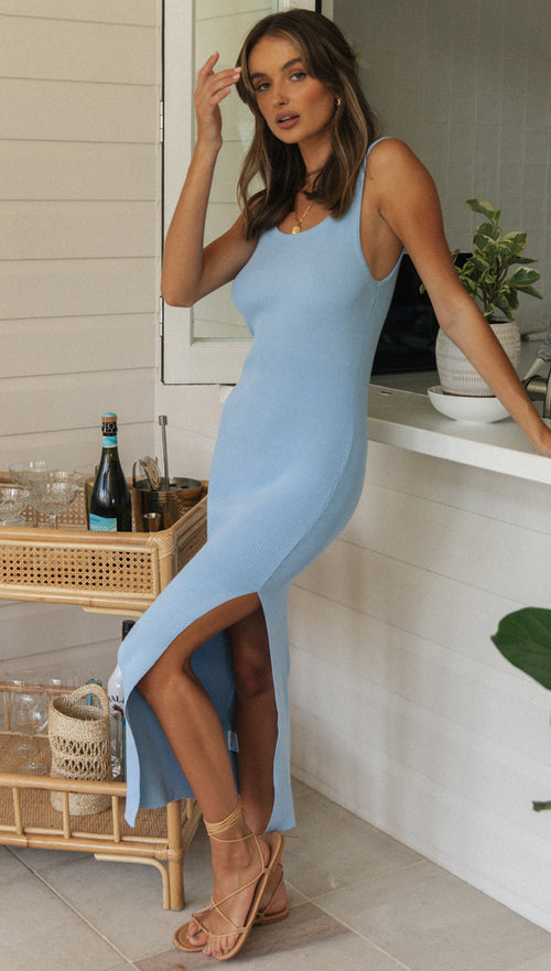 Sidonie Dress (Blue)