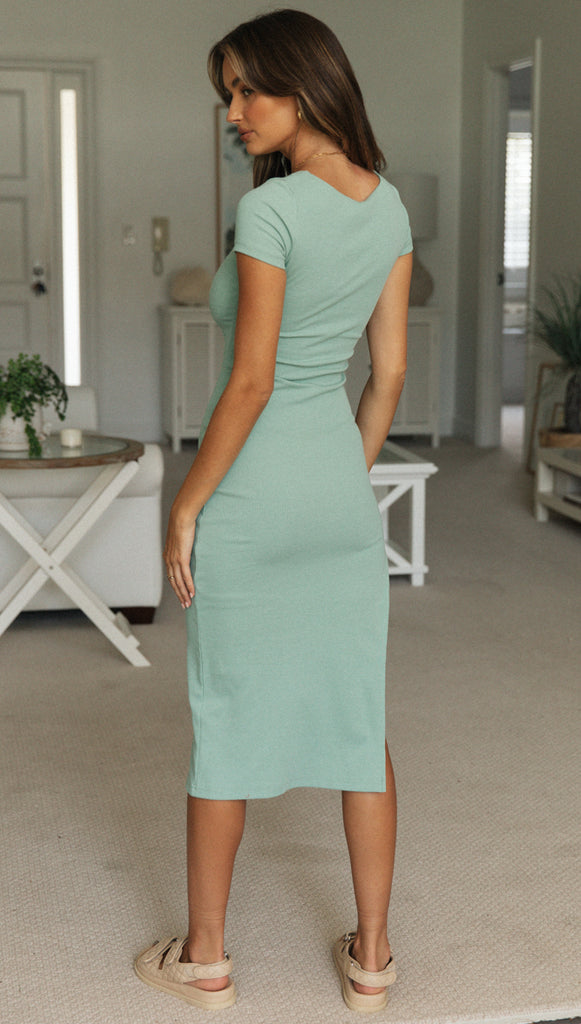 Lia Dress (Mint)