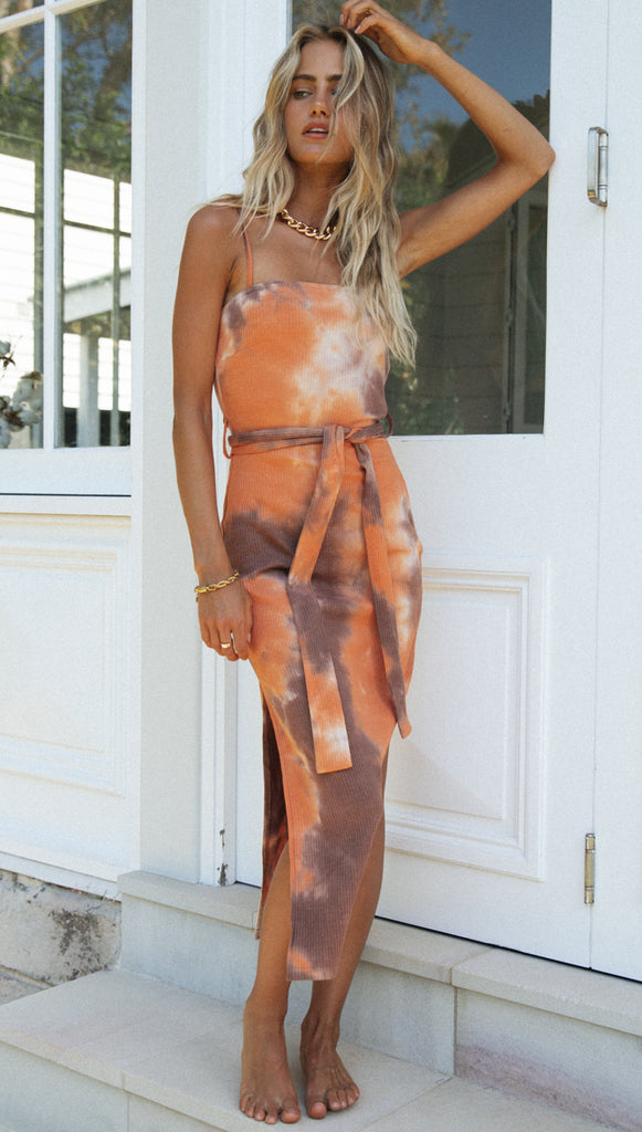 Rayella Dress (Orange)