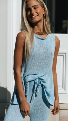 Jolene Top (Sky Blue)