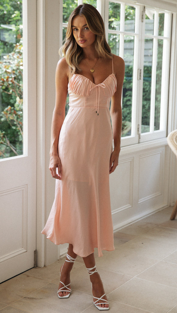 Blaise Dress (Peach)