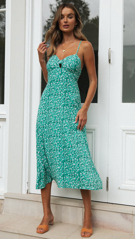 Nylah Dress (Teal)