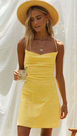 Fantasy Dress (Lemon)