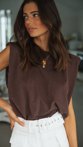 Cammie Top (Chocolate)