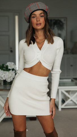 Elienor Skirt (White)