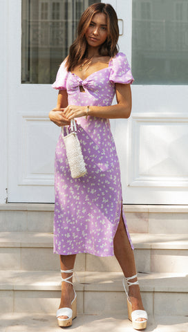 Azariah Dress (Lilac)