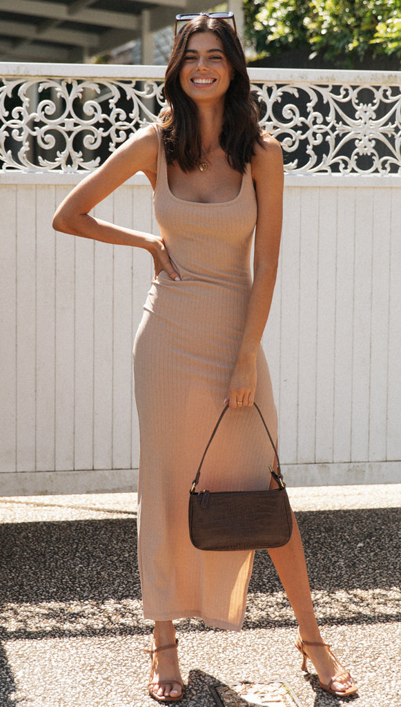Cassandra Dress (Nude)