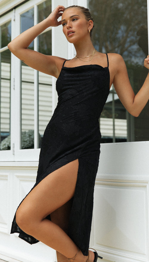 Candice Dress (Black)