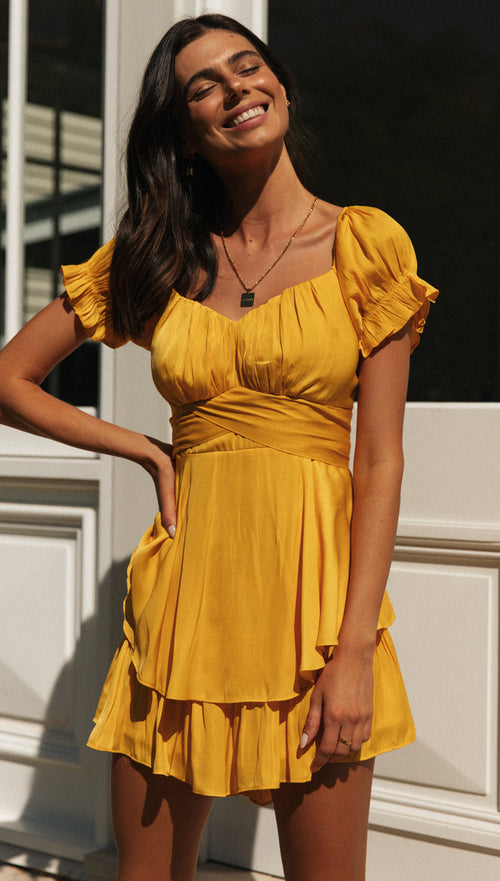 Be Mine Playsuit (Yellow)