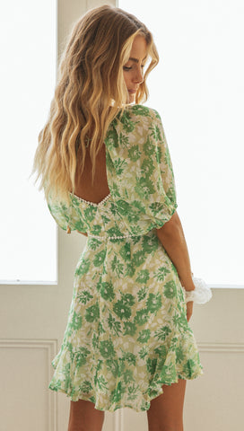 Nuala Dress (Pistachio)
