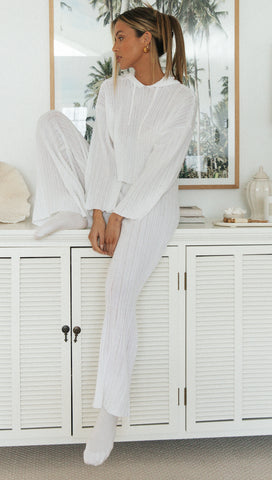 Shiena Pants (White)
