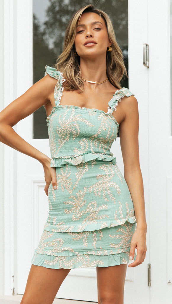 Brookie Dress (Mint)
