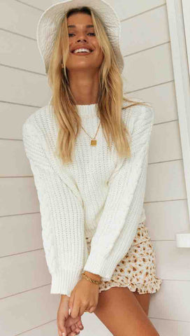 Millicent Knit (White)