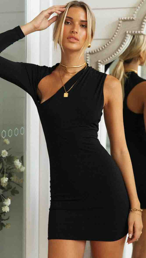 Saint Clare Dress (Black)