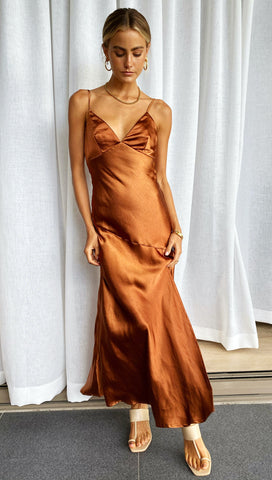 Orabelle Dress (Caramel)
