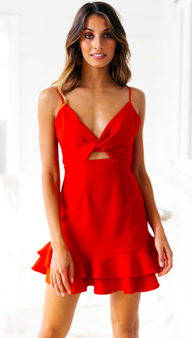 Vincentia Dress (Red)