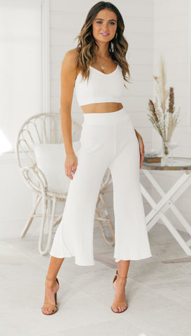 Paris Pants (White)