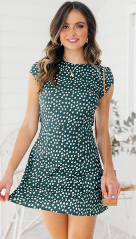 Matheson Dress (Green)
