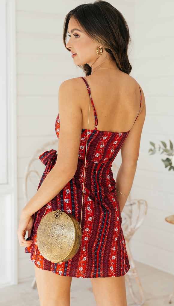 Bonavista Dress (Red)