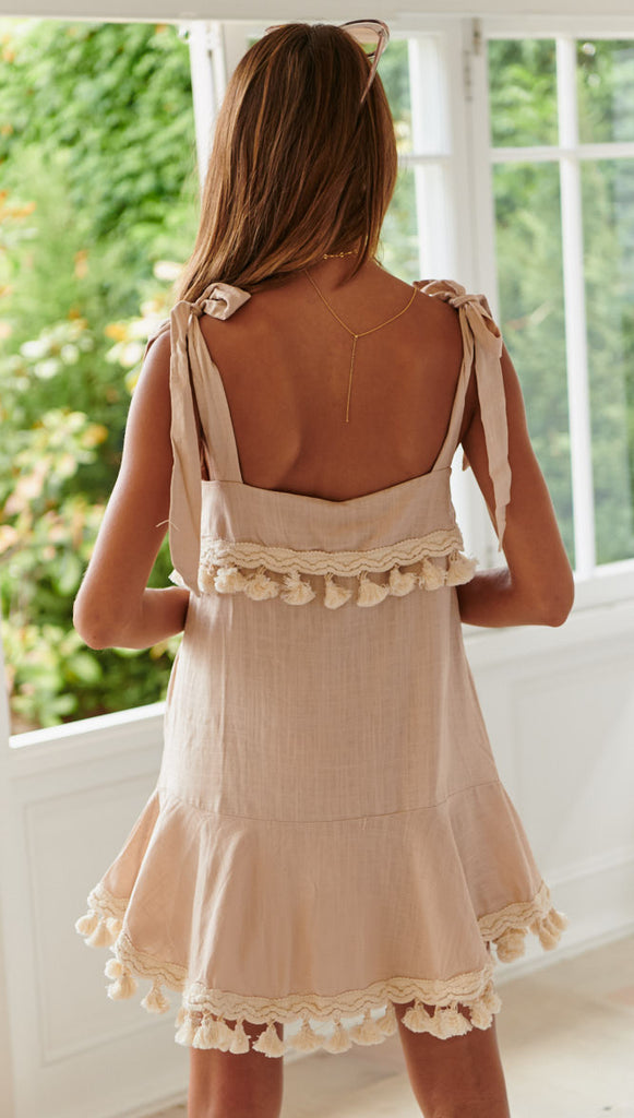 Señorita Dress (Nude)
