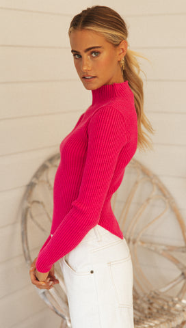 Melodine Top (Pink)