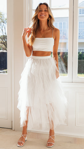 Isla Skirt (White)