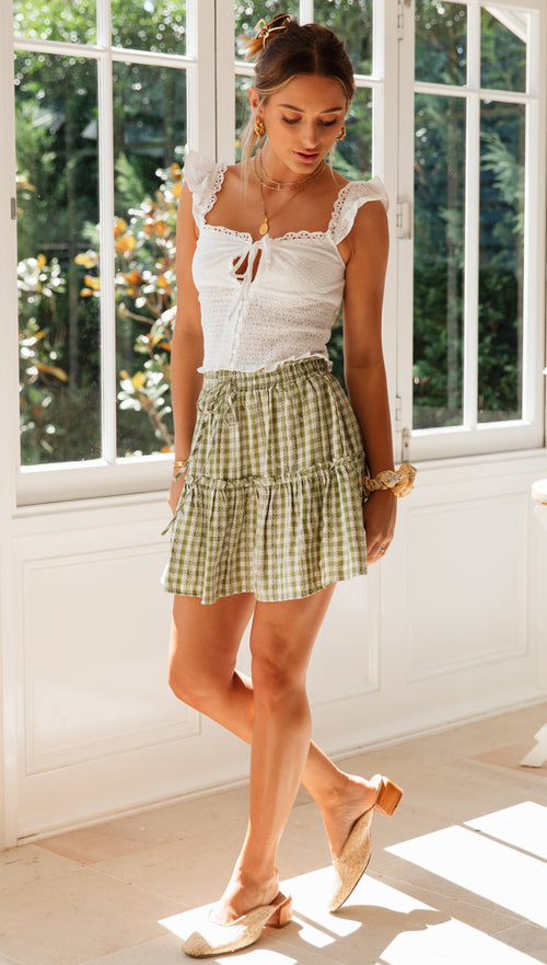 Dandy Mini Skirt