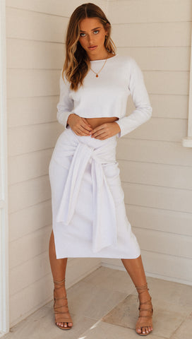 Melody Skirt (White)