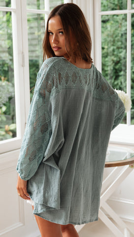 Marrakesh Top (Teal)