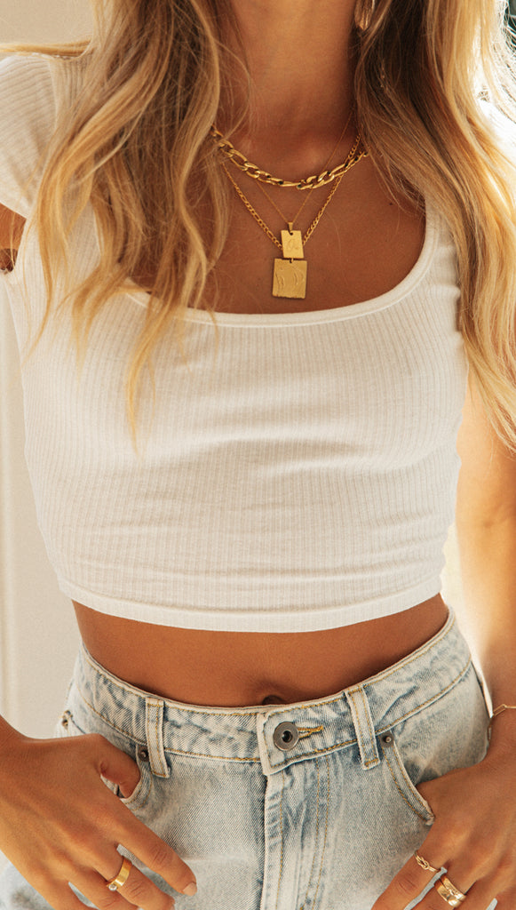 Gemma Top (White)