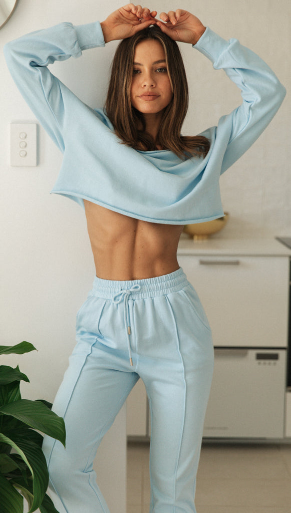 Kalina Top (Sky Blue)