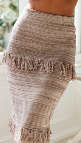 Seychelles Skirt (Brown)