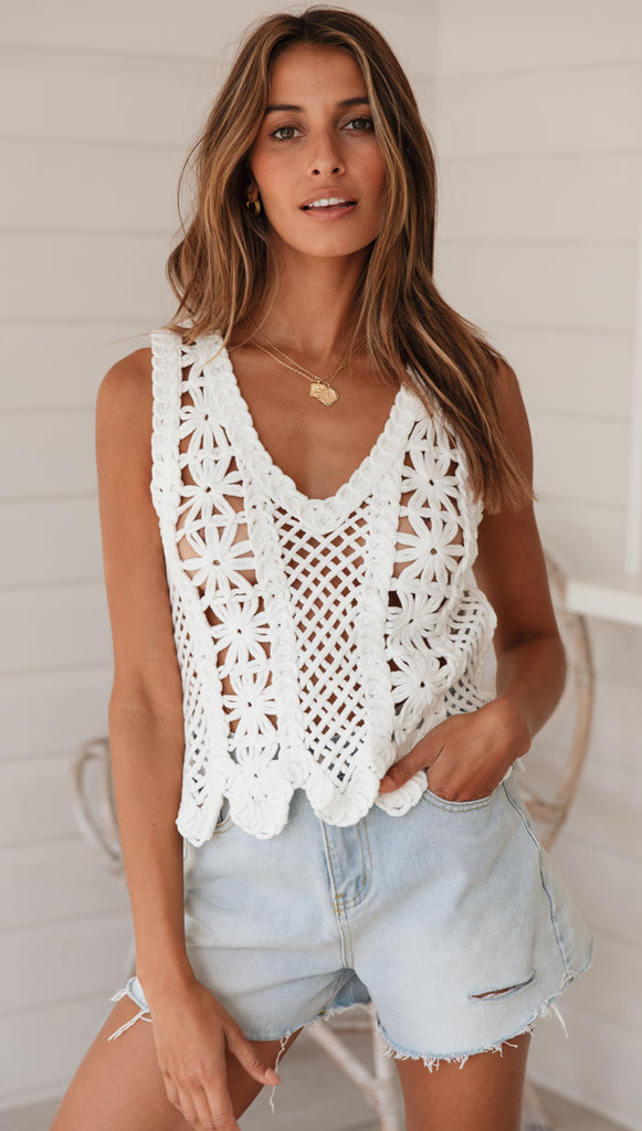 Romero Top (White)