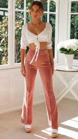 Clermont Flares (Rose)