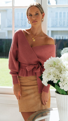 Wrap Me Up Top (Rose)