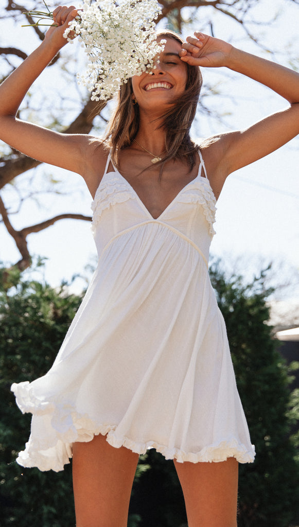 Portofino Dress (White)