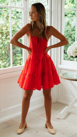 Sunset Dress (Red)