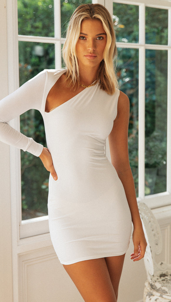 Saint Clare Dress (White)