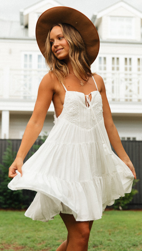 Sunset Dress (White)