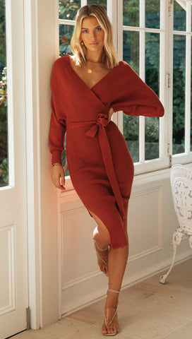 Kennedy Dress (Camel)