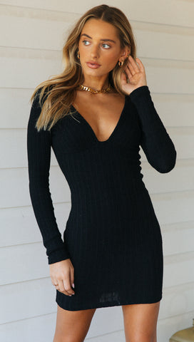 Adriana Dress (Black)