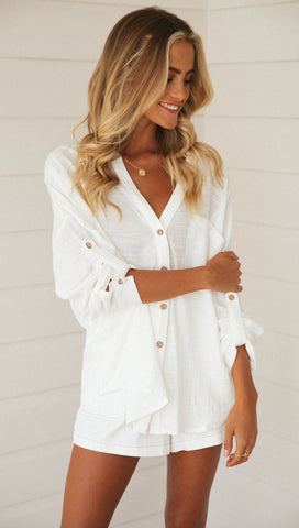 Maleny Shirt (White)