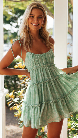 Avery Dress (Green)