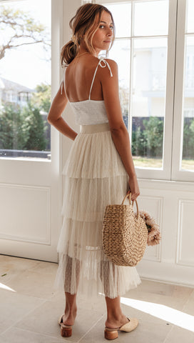 Lilliana Skirt (Beige)