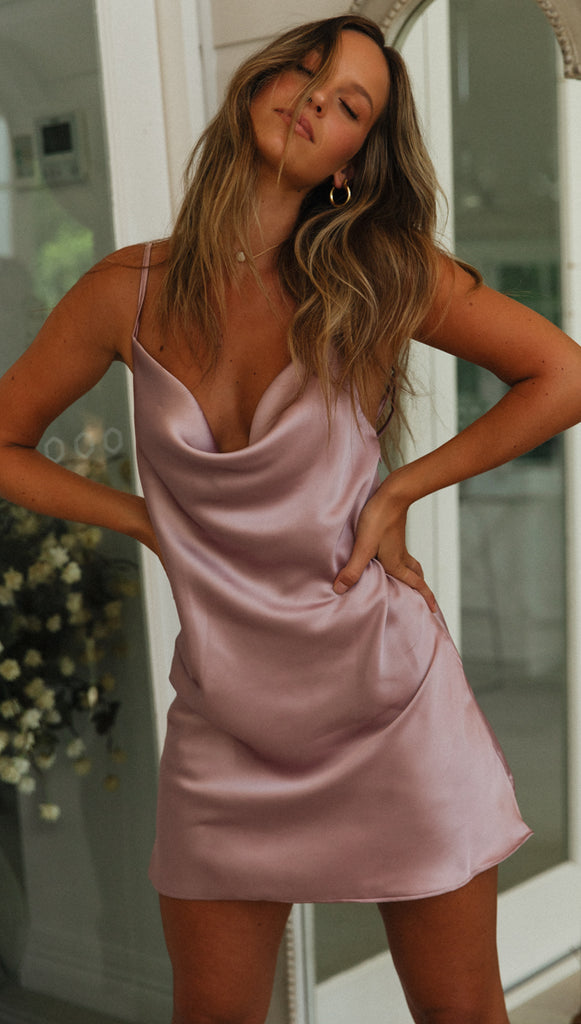 Fiesta Dress (Blush)